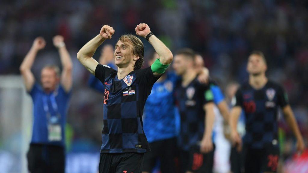 Croatia - England World Cup Semi Final