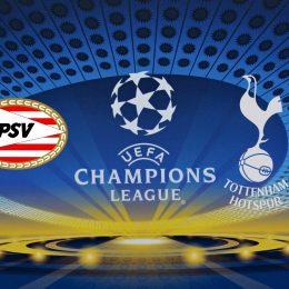 Champions League PSV Eindhoven vs Tottenham