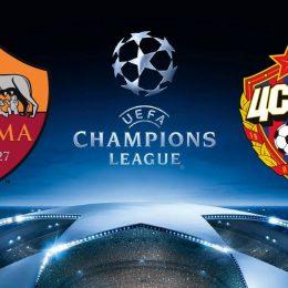 Roma vs CSKA Champions League