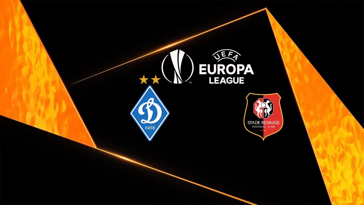 FC Dynamo Kiev vs Rennes Europa League