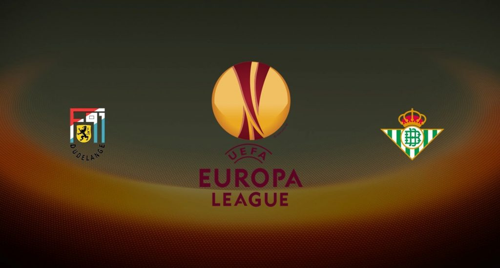 Dudelange vs Betis Europa League