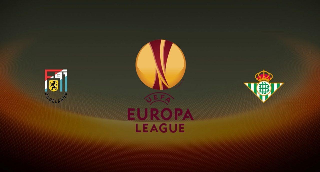 Dudelange vs Betis Europa League